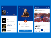 PSN App - Trophy Concept