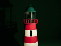 3D Lighthouse shot
