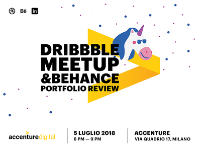 Dribbble Meetup w/Behance Portfolio Reviews 2018