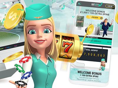Casino mobile website design photoshop (interest) ui graphic india designer design website web casino