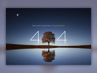 404 404 ui