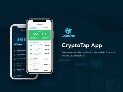 Crypto Tap App cryptocurrency mobile app design ui  ux uiux ux design crypto app crypto exchange ui design app design crypto wallet crypto app ux ui design