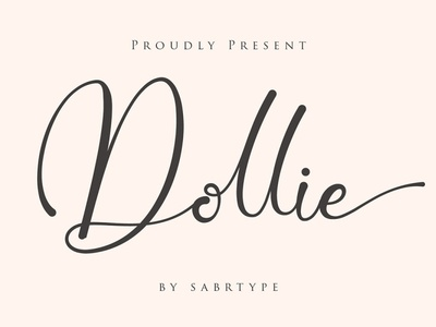 Free Dollie Script Font shirt script quotes professional print photography modern minimalist magazine logo handwritten handwriting fonts fashion elegant design card business branding beautiful