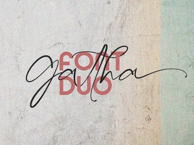 Free Gatha Font Duo creative typography design typography typeface stephen type font stephen type signatures signature fonts signature logo lettering letter handwriting font handwriting fonts font digital font design calligraphy font calligraphy