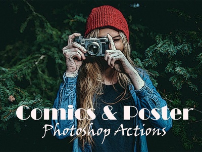 Comic Poster Photoshop Actions Free Download comic paint actions comic actions retouch real professional retouch professional portrait plastic photoshop action photoshop photographer paint oil paint hdr retouching hdr glow glamour clean beauty skin beauty
