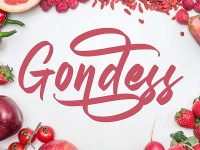 Free Gondess Script Font pen modern logo light lettering invitation hotel handwriting font flyer fashion elegant clean classic card calligraphy brush brochure beautiful ballpoint
