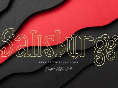 Free Sallsburgg Display Font sans serif regular sans regular font qualy font professional modern font modern light font font clean bold sans bold alternative font all caps