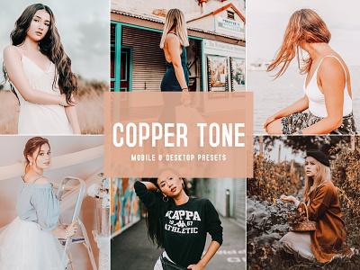 Free Download Copper Tone Mobile & Desktop Lightroom Presets