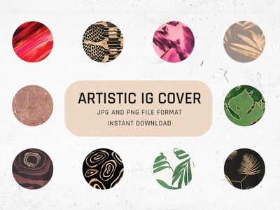 Free Download Artistic Instagram Highlight Covers instagram story