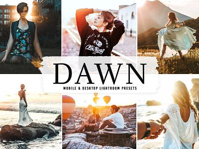 Dawn Mobile & Desktop Pro Lightroom Presets creative clean lightroom presets