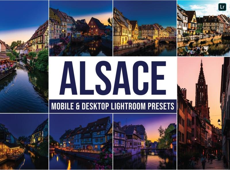 Alsace Mobile & Desktop Lightroom Presets motorbike lightroom presets photography