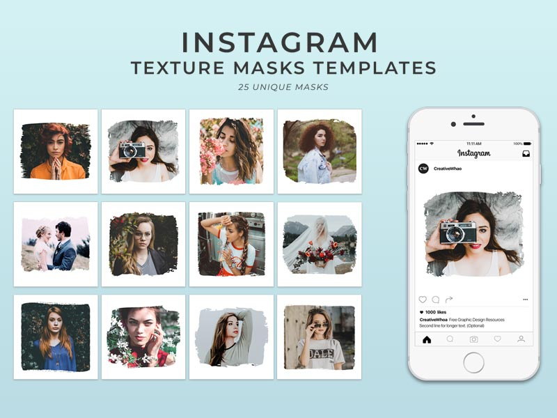 Instagram Post Template Psd Free