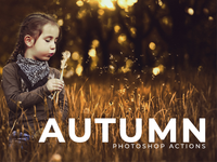 50 Free Autumn Photoshop Actions