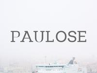 Free Paulose Modern Serif Font