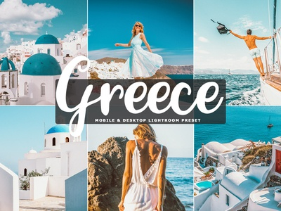 Free Greece Mobile & Desktop Lightroom Preset