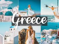 Free Greece Mobile & Desktop Lightroom Preset