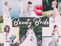 Free beauty bride mobile desktop lightroom preset cover 1