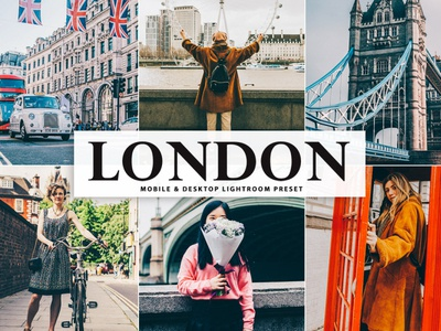Free London Mobile & Desktop Lightroom Preset
