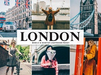Free London Mobile & Desktop Lightroom Preset