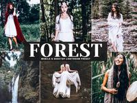 Free Forest Mobile & Desktop Lightroom Preset