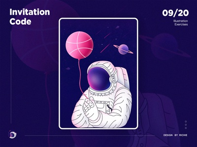 One dribbble invite !