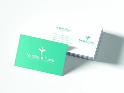 Medical Minimal Business Card 300dpi display card design medical minimalist logo minimal illustration illustrator creative creative design design business business card design business cards businesscard