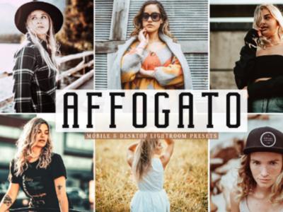 Affogato Lightroom Presets Pack packs illustration 300dsi photography mobile lightroom presets presets lightroom