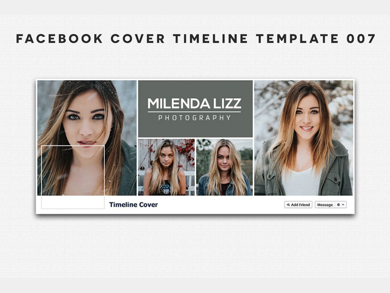 Free Facebook Cover Timeline Template 7 by Mohammad Usama