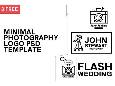 3 Free Minimal Photography Logo Template best minimal logo free minimal best logo free minimal photography logo photography logo free photography logo templates logo templates 3 free logo