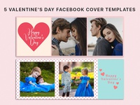 5 Free Valentine's Day Facebook Cover