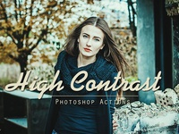 50 High Contrast Photoshop Actions