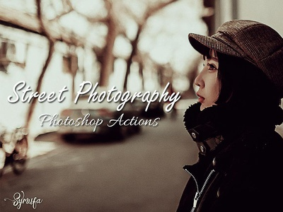 Street Photography Photoshop Actions professional cc cs3 atn action effect photography symufa actions photoshop street