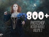 800 Photoshop Action Bundle 2
