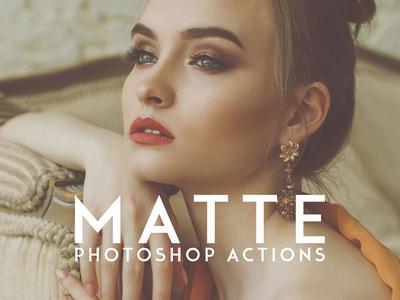 15 Matte Photoshop Actions