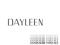Dayleen Sans Serif 4 Font Family