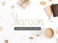 Sharoon Handwritten Sans Serif Font