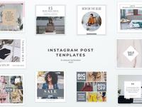 Simple Instagram Post Templates