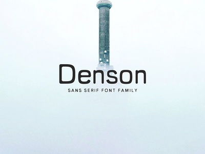 Denson Sans Serif Font Family headline geometric text fonts vintage font web web-font rounded typeface serif sans