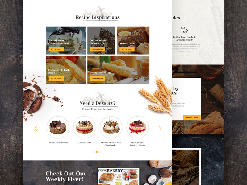 Ui Sobeys landing page web design ux design ui design creative design food interface ux ui website