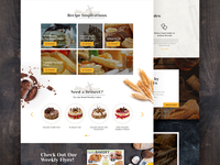 Ui Sobeys landing page web design ux design ui design creative design food interface ux ui website