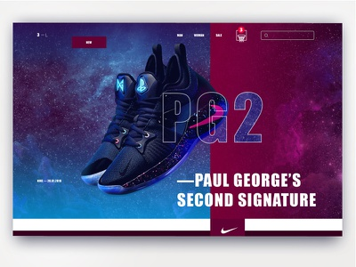 SportsWear Store concept sneakers icon shopping e-commerce basket ui spotrswear