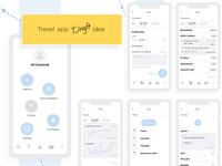 Travelapp concept