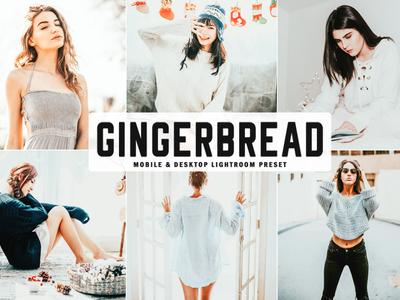 Free Gingerbread Mobile & Desktop Lightroom Preset