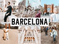 Free Barcelona Mobile & Desktop Lightroom Preset