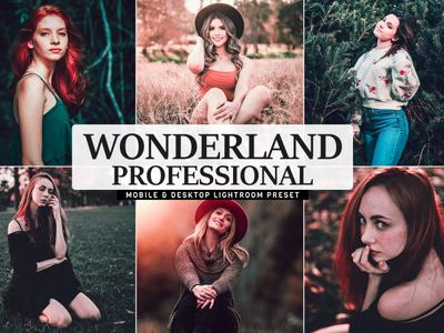 Free Wonderland Pro Mobile & Desktop Lightroom Preset