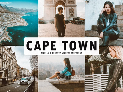 Free Cape Town Mobile & Desktop Lightroom Preset