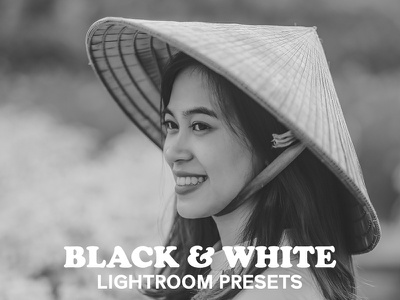 Black and White Collection Lightroom Presets mono presets lightroom preset 4 presets lightroom presets bw filter black and white filter