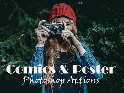 Free Comic And Poster Photoshop Actions comics photoshop action poster photoshop action comic and poster effect photoshop cs3 action photoshop action poster effect comic effect