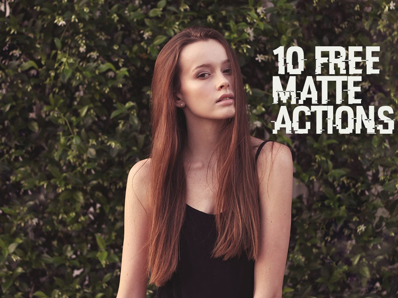 10 Free Matte Photoshop Actions matte photoshop filter matte filter free matte effect free photoshop action matte photoshop action free matte action matte action