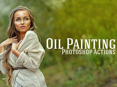 Free Oil Painting Photoshop Actions oil painting filters oil painting actions pencil effect photoshop action cs3 action free photoshop action quality photoshop action